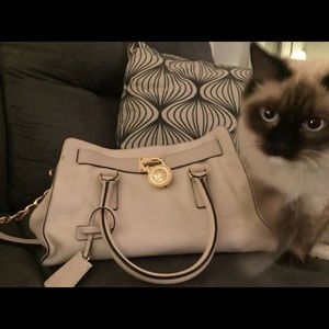 Michael Kors cream purse, MK